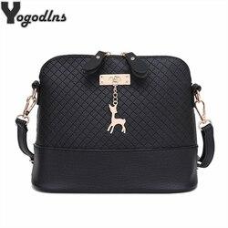 Горячая распродажа! 2019 женские сумки-мессенджеры модная мини сумка с оленем игрушка в виде ракушки сумка женские сумки на плечо сумочка