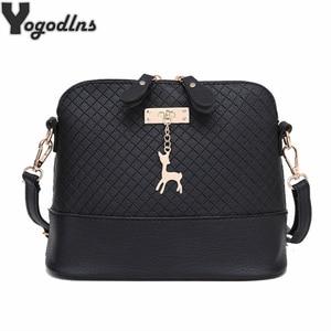 HOT SALE!2020 Women Messenger Bags Fashion Mini Bag With Deer Toy Shell Shape Bag Women Shoulder Bags handbag