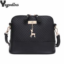 Горячая распродажа! 2018 Для женщин Курьерские сумки модные мини-сумка с оленями игрушки Shell Форма сумка Для женщин сумки на плечо сумочка
