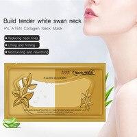 5packs Lot PILATEN Crystal Collagen Neck Mask Women Anti Wrinkle Whitening Moisturizing Hyaluronic Acid Mask Neck