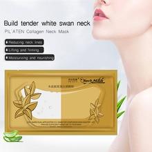 5packs/lot PILATEN Crystal Neck Mask Women Anti-wrinkle Whitening Moisturizing H