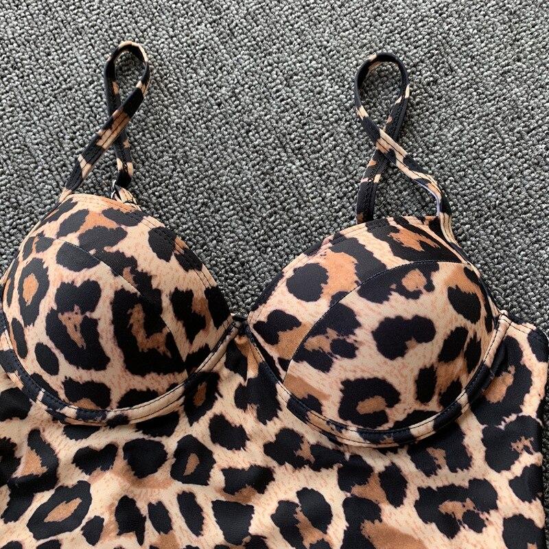 HTB1v.wdXUD1gK0jSZFGq6zd3FXat leopard swimwear women swimsuit brazilian thong bikini 2019 bathing suit women high waist bikinis push up swimming suit biquini