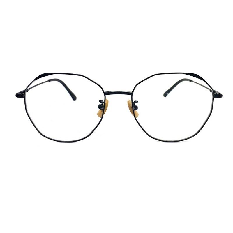 Lunettes rétro monture hommes métal fait à la main lunettes cadre femmes hommes lunettes rondes myopie Prescription lunettes Oculos de grau