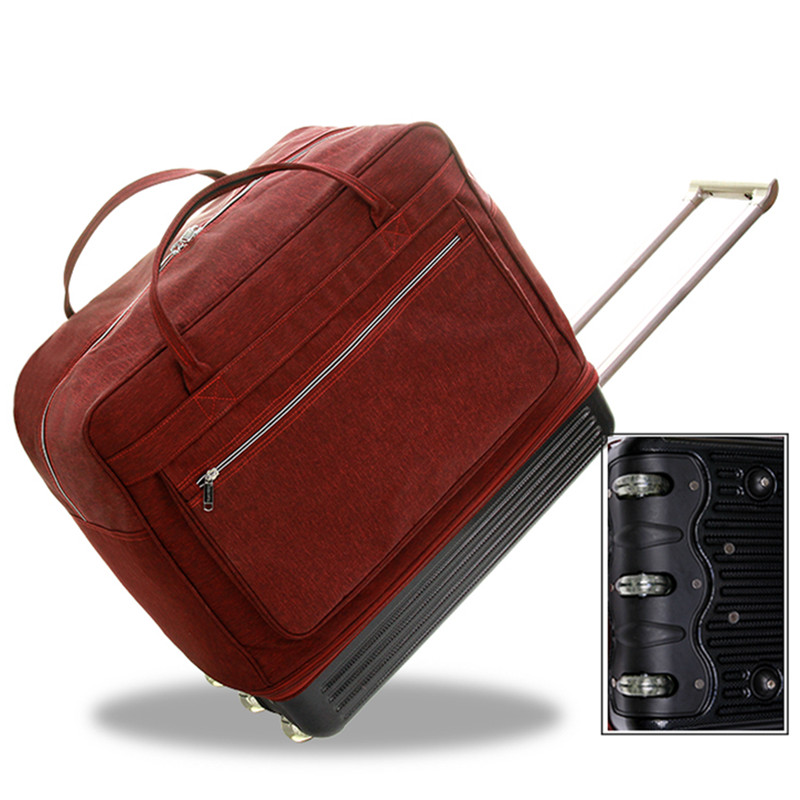 High capacity trolley case portable baggage bag men women travel boarding check bags 28 inch luggage business 3 wheels suitcase High capacity trolley case portable baggage bag men women travel boarding check bags 28 inch luggage business 3 wheels suitcase