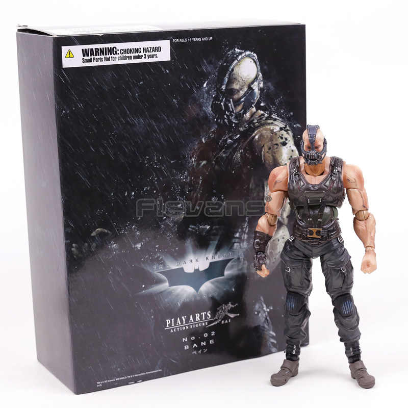 The Dark Knight Rises Trilogy Bane Jogue Arts Kai PVC Action Figure Collectible Modelo Toy