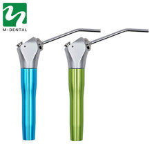 1 Set Dental Air Water Spray Triple 3 Way Syringe Handpiece + 2 Nozzles Tips Tubes For Dental Lab Blue/Green Available