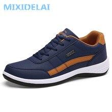 Новые модные мужские кроссовки; мужская повседневная обувь; дышащая мужская повседневная обувь на шнуровке; Весенняя кожаная обувь для мужчин; chaussure homme
