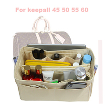 Organizer waterproof 1200D Oxford Cloth Purse Handbag  Bag In Tote w/Detachable zipPocket Fits keepall 45 50 55 6