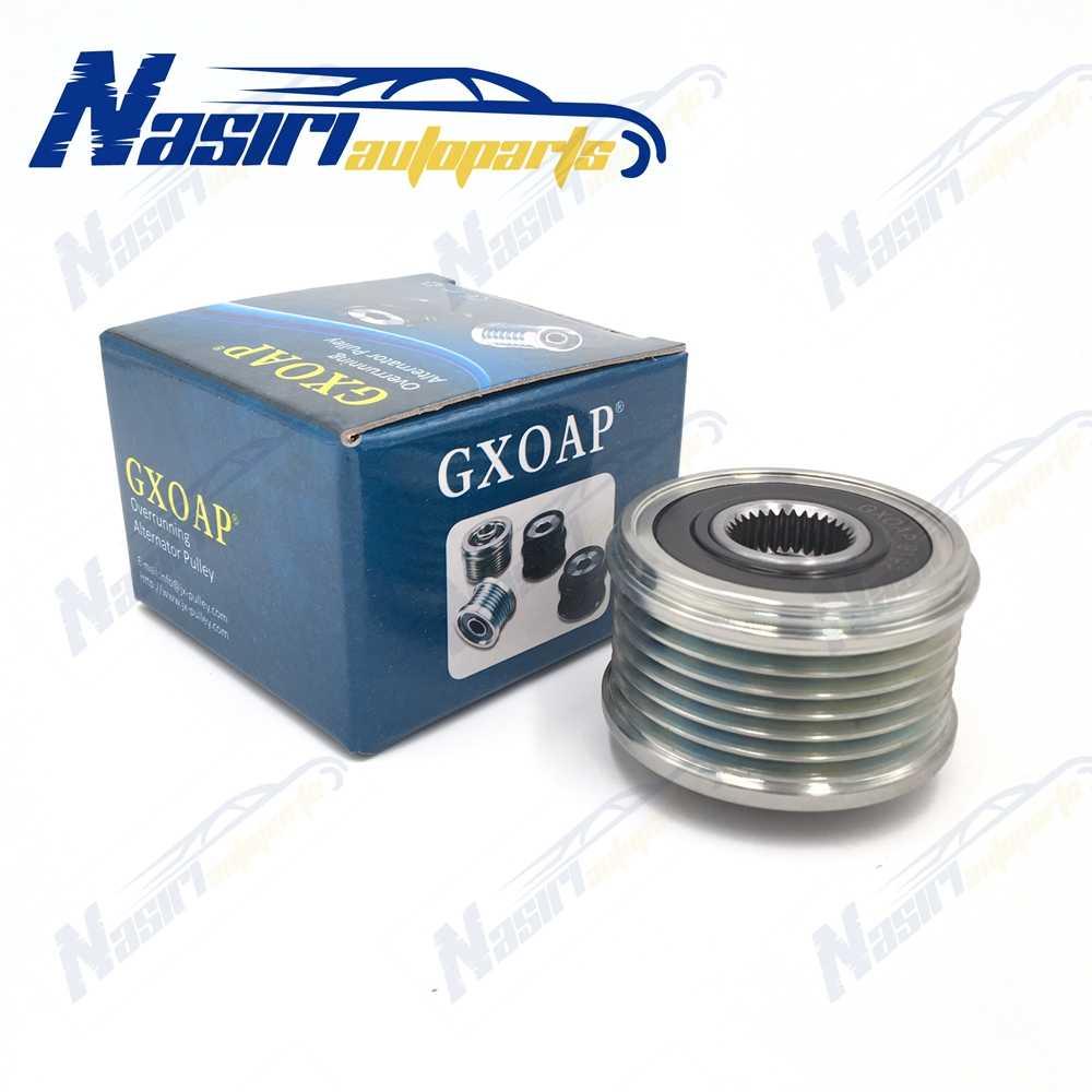 По сравнению с бег муфта свободного хода для преобразователя шкив для Nissan Cube Juke micra Note NV200 Qashqai Tiida сlio Kangoo 1,5 дизель