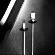 8 шт. автомобильное зарядное устройство зажим для наушников/USB кабель автомобильный зажим для Volkswagen VW тигуан Жук поло Бора T-ROC Джетта Т5