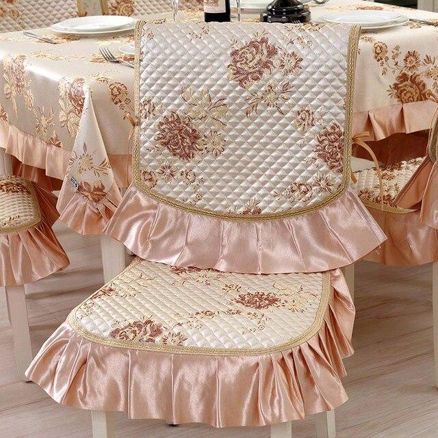 Satin Wedding Banquet Dinning Chair Cover Fundas Sillas Comedor ...