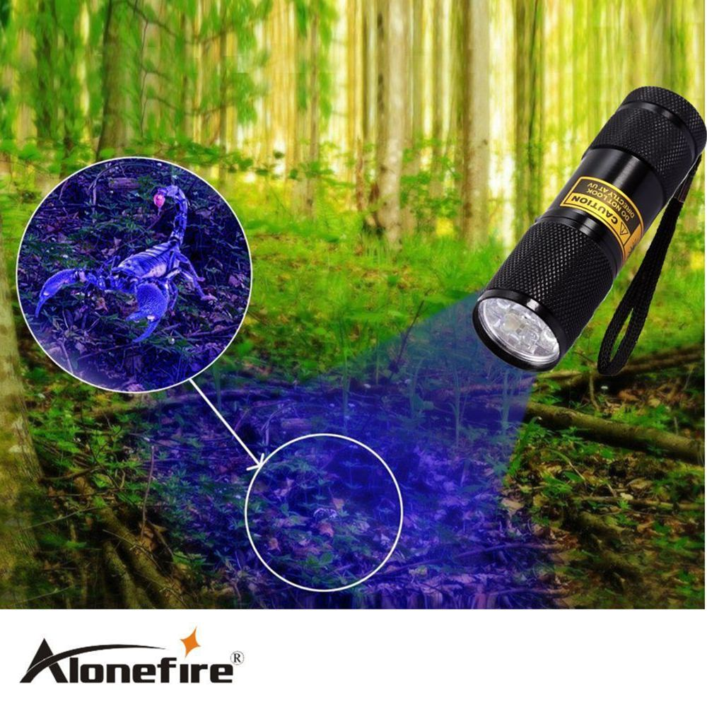 SUPERIA 9LED 365nm UV Light LED uv Flashlight /Ultraviolet light for uv leak detector (365nm Best world ultraviolet lamp) mikado ultraviolet 0 28 150 м 9 70 кг