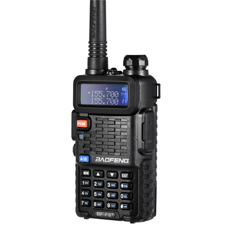 Image 2 - 100% Original BaoFeng F8+ Upgrade Walkie Talkie Police Two Way Radio Pofung Dual Band Outdoor Long Range VHF UHF Ham Transceiver-in Walkie Talkie from Cellphones & Telecommunications