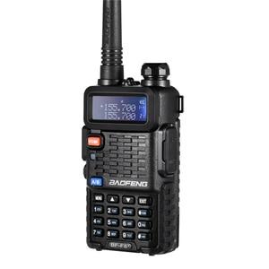Image 2 - 100% oryginalny BaoFeng F8 + Upgrade Walkie Talkie Police dwukierunkowy Radio dwuzakresowy długa na świeże powietrze zakres VHF krótkofalowe UHF Transceiver