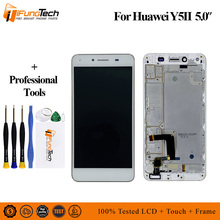 For Huawei Y5 2 LCD Display Touch Screen Digitizer Assembly With Frame 5.0