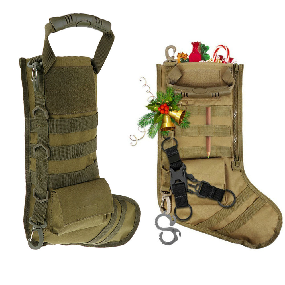 Tactical Christmas Stocking.Us 8 54 5 Off Tactical Molle Pouch Christmas Stocking Bag Military Dump Drop Pouch Nylon Storage Bag Hunting Magazine Pouches In Pouches From Sports