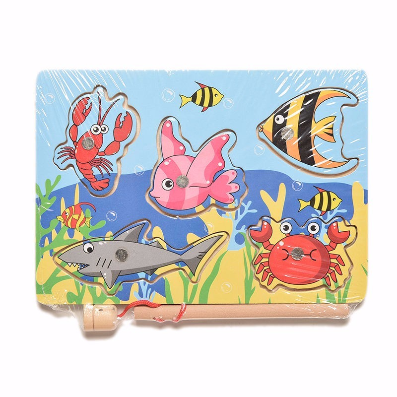 wholesale-price-Funny-Wooden-Magnetic-board-Fishing-Game-Jigsaw-Puzzle-pizarra-infantil-Children-Toy-good-gift-for-kids-3