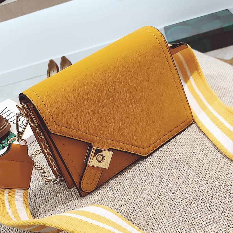 RoyaDong Brand 2019 Fashion Women Bags Small Flap 2 Straps Crossbody Bag Designer Female Candy Color Bags Messenger Shoulder Bag