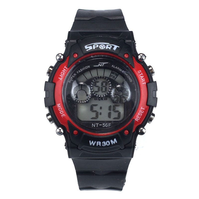 children's watch Alarm Date Digital Multifunction Sports Watch LED Light Wristwatch reloj hombre clock montre enfant #N03