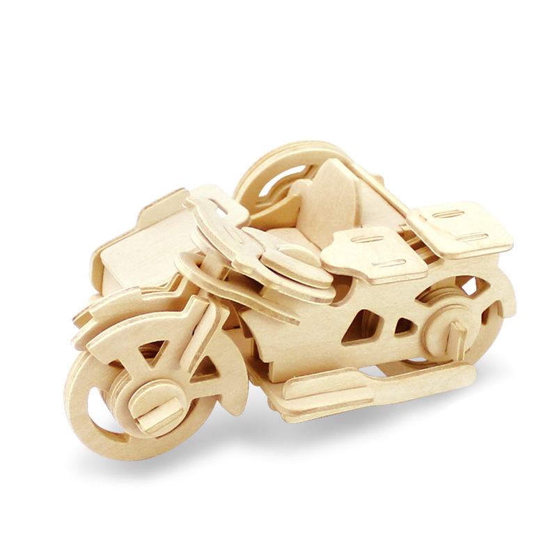 3D DIY Wood Puzzle Toy Military Series Tank Vehicle Model Set Creative Assembled Education Puzzle Toys Gifts For Children Kids 6