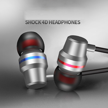 In ear Wired Earphone Subwoofer Earphones Music Headset Smartphone With Microphone for Android iPh Universal стоимость