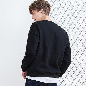 Image 4 - Pioneer camp nowa zimowa bluza polarowa bluzy męskie marki odzież casual bluza z nadrukiem jakości bawełny dres AWY806084