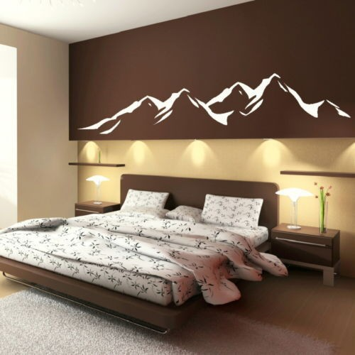 Buy Mountains Modern Designe Vinyls Wall