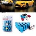 AMK racing--RAYS VOLK Alloy Aluminum Wheel Lock Nuts Racing Lug Nuts Length 35MM 12x1.5