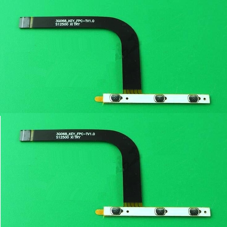 Original switch on off Power Volume button Flex cable For teclast x98 air 3G P98 3G conductive flex with sticker replacement original switch on off power