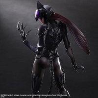 NEW hot 28cm Catwoman Batman super hero collectors action figure movable toys Christmas kids gift for chilren doll