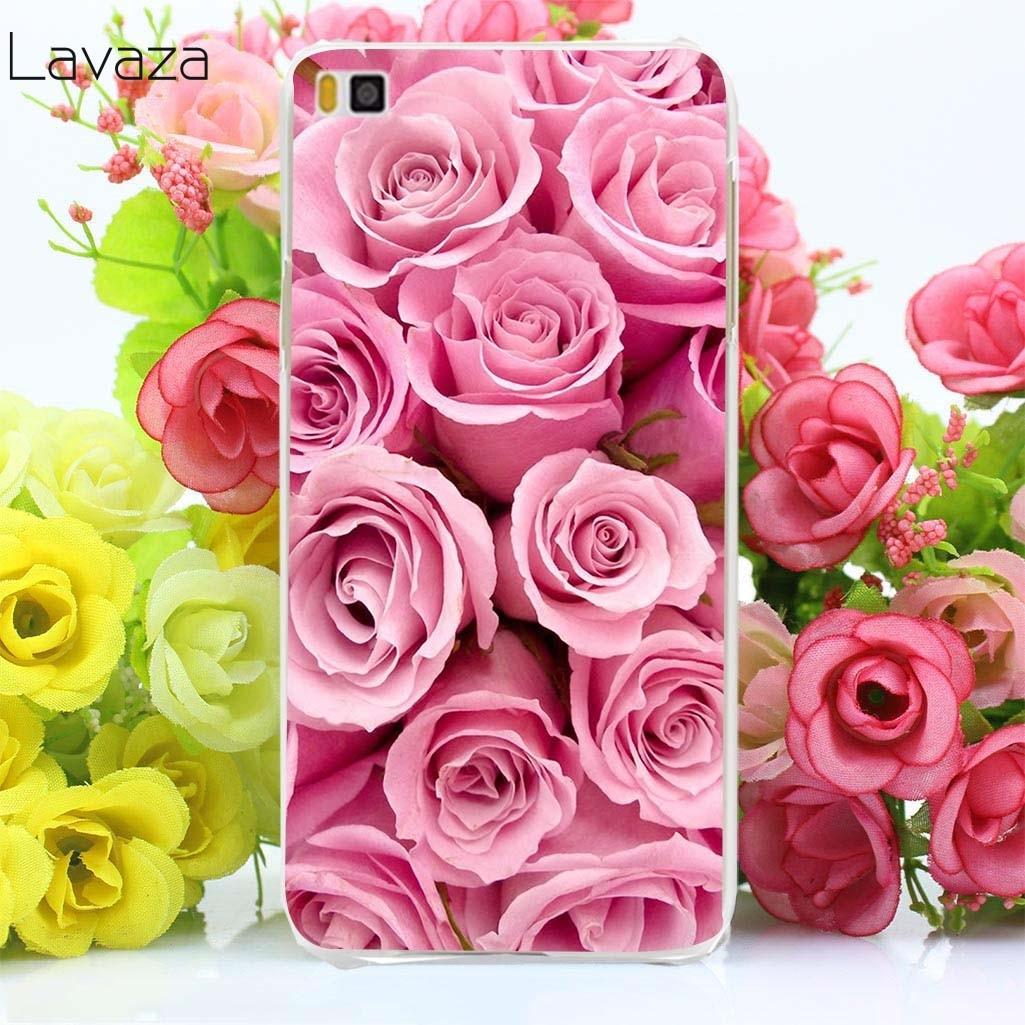 Lavaza 4af красивые цветы красная роза футляр для huawei P smart P20 P10 P8 P9 lite mini Plus Pro 2015 2016 2017