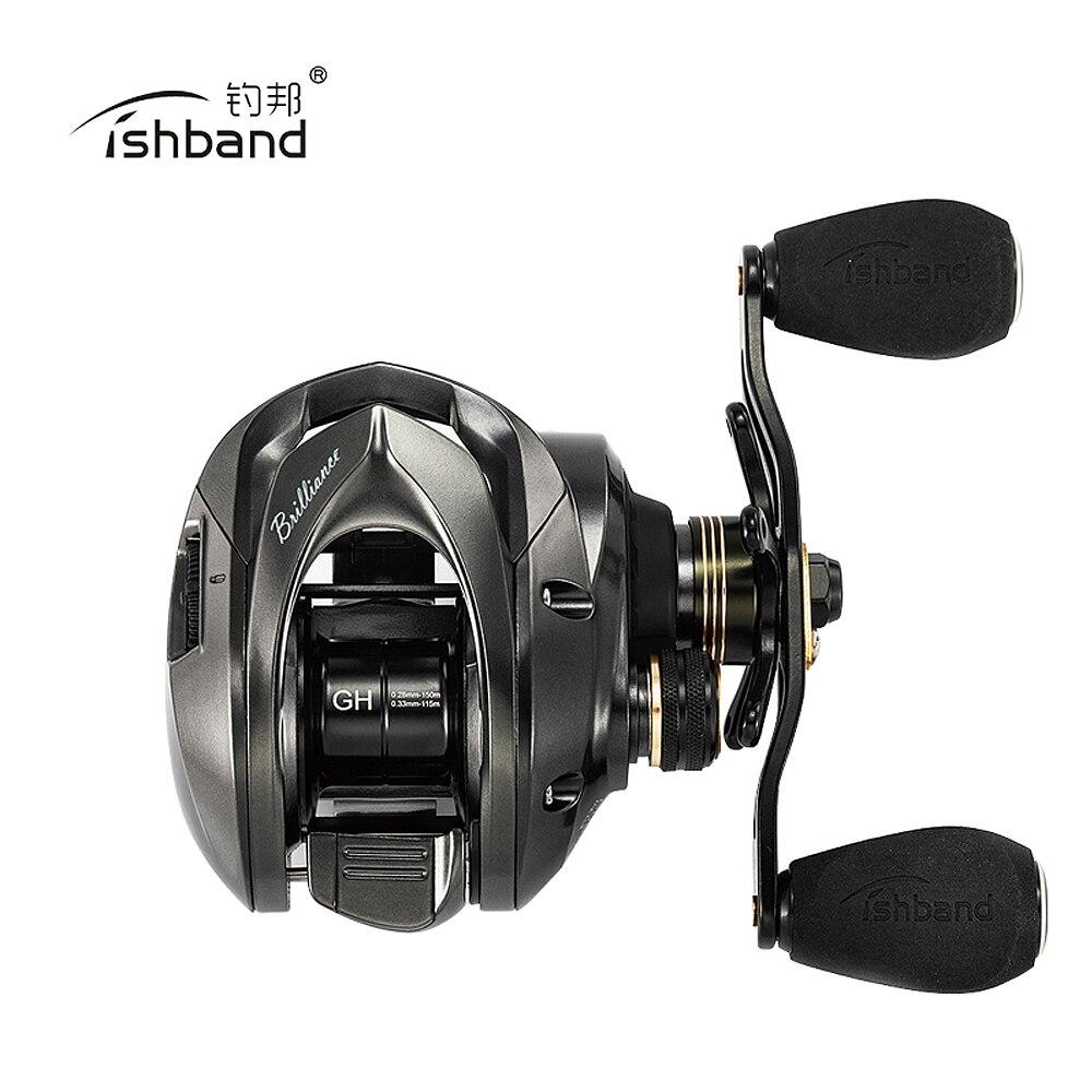 2019 Fishband New Baitcasting Reel GH100 GH150 7 2 1 Left Right Hand Light Bait Casting