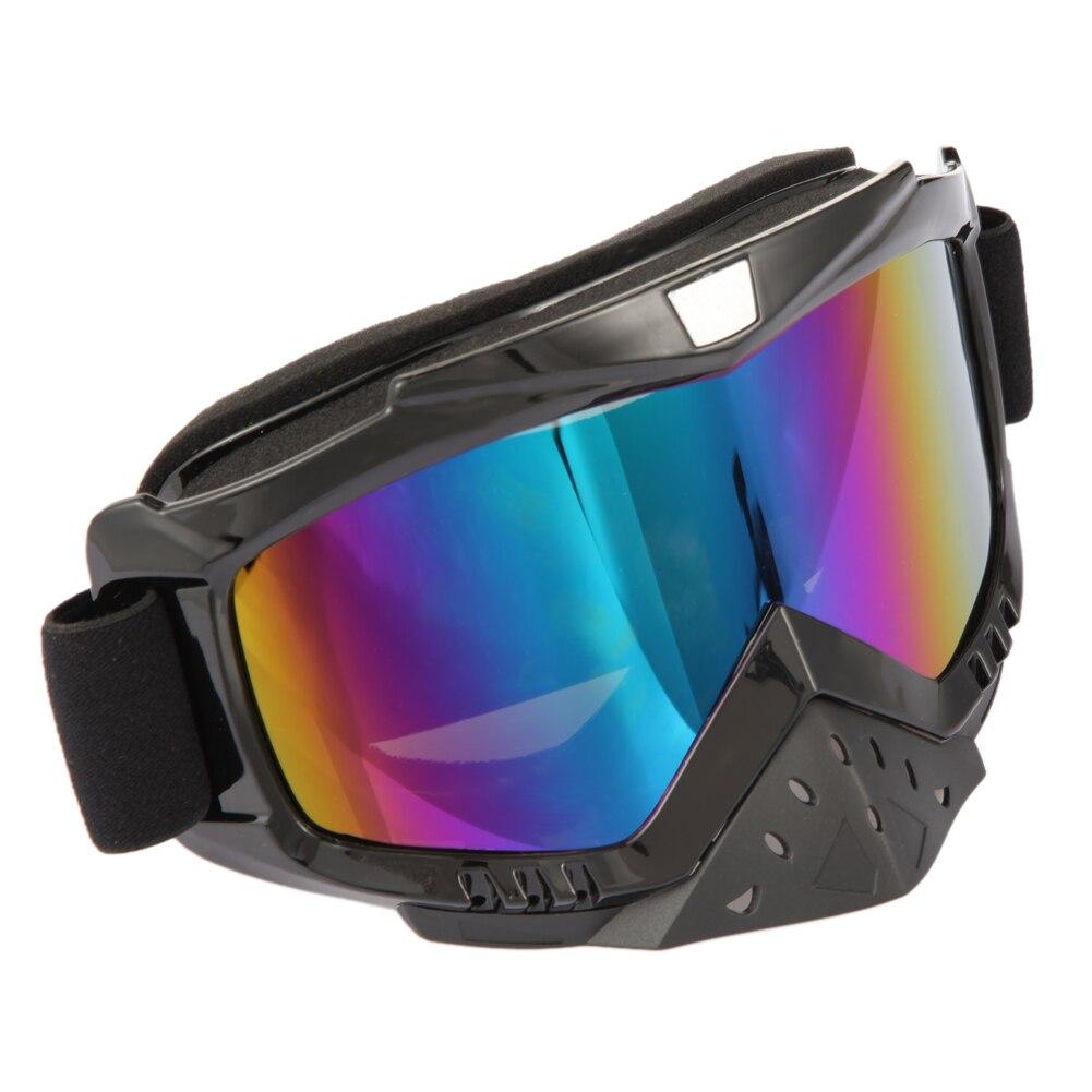 Prix pour Marque Nouvelle Moto VTT Dirt Bike Racing Dirt Bik Anti-UV Ski Ski Lunettes Lunettes hommes femmes lunettes de Neige ski googles KSKS