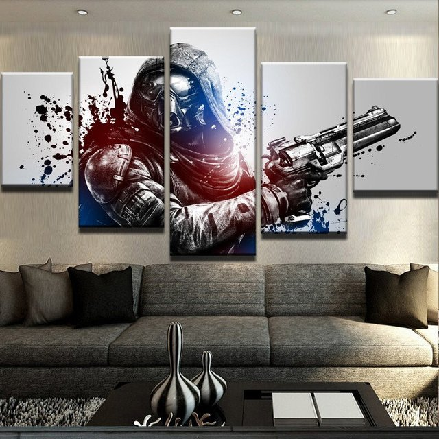5 Panel Destiny Canvas Printed Pictures Wall Art Canvas Painting ...