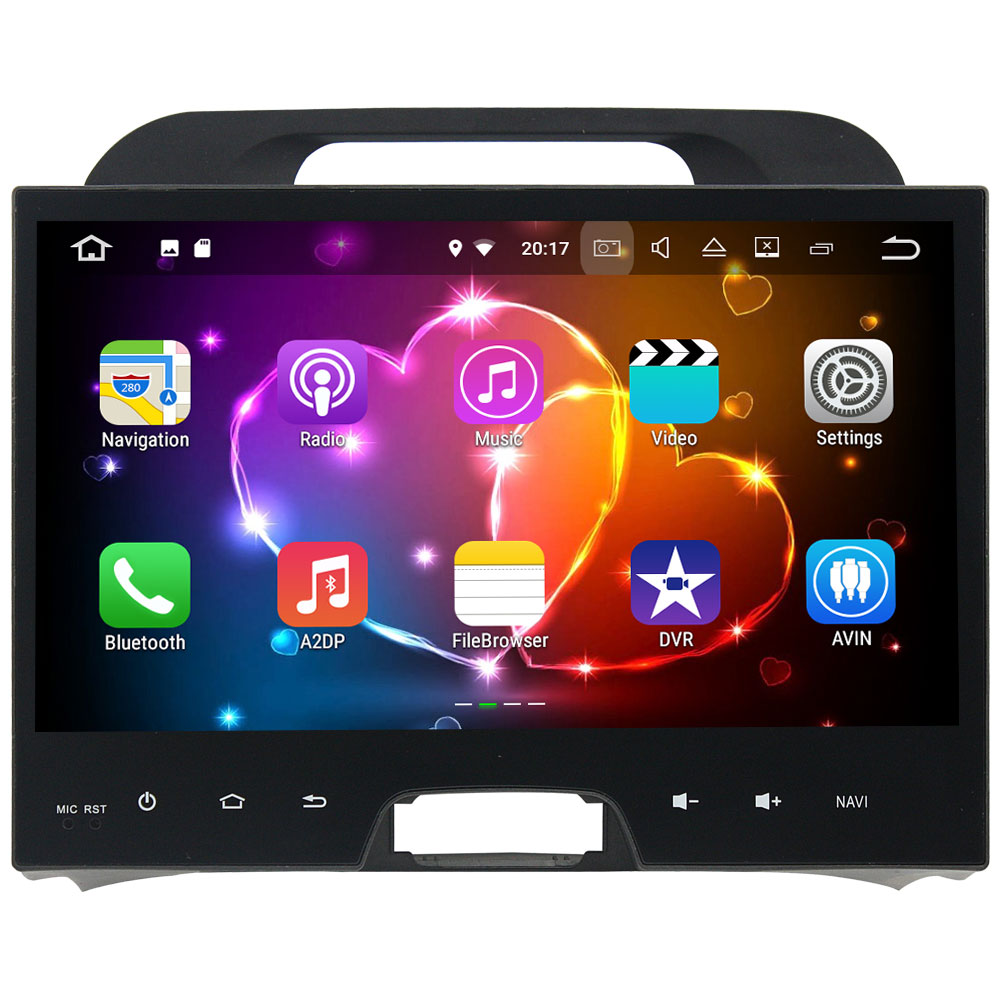 1024 600 2 Din Android 7 1 2 Car Radio Multimedia Stereo MP3 Player GPS Navigation
