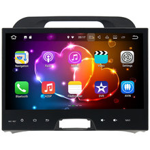 1024*600 2 Din Android 7.1.2 Car Radio Multimedia Stereo MP3 Player GPS Navigation touch screen For Kia Sportage 2010 2011 2012