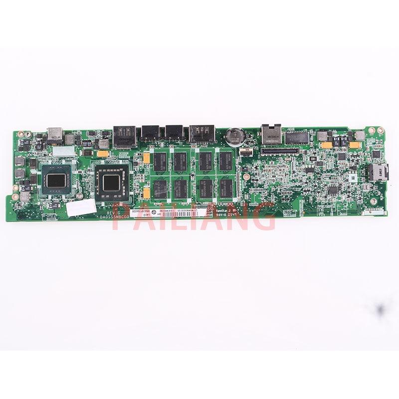 PAILIANG Laptop motherboard for DELL Adamo 13 SL9600 4GB GPU PC Mainboard CN 02WP3G 02WP3G tesed