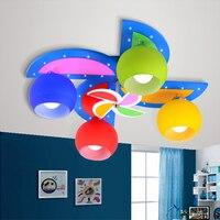 Детская игрушка современный детский сад освещение комнаты дети мальчики и девочки спальня потолочный светильник светодио дный светодиодн