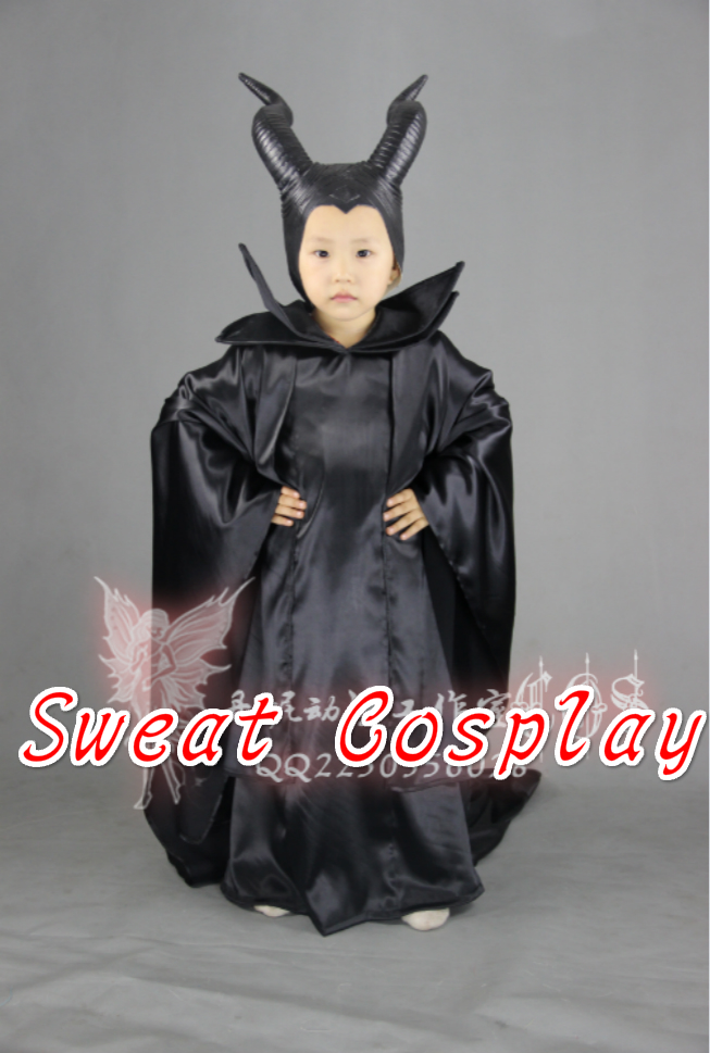 Us 75 05 5 Off 2016 Girls Maleficent Dress Costumes For Kids Maleficent Cloak Carnival Costumes For Children In Movie Tv Costumes From Novelty