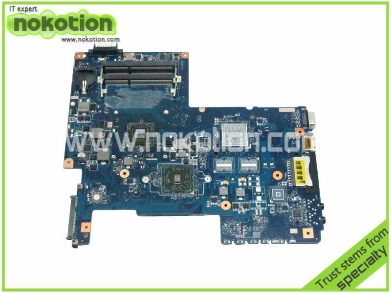 NOKOTION H000036160 Motherboard For Toshiba Satellite C670D PN 08N1-0NG0J00 Laptop Notebook Main Board Mother Board h000034200 laptop motherboard for toshiba satellite l750 l770d l775d bs as main board rev 2 1 08n1 0n93j00 works mainboard