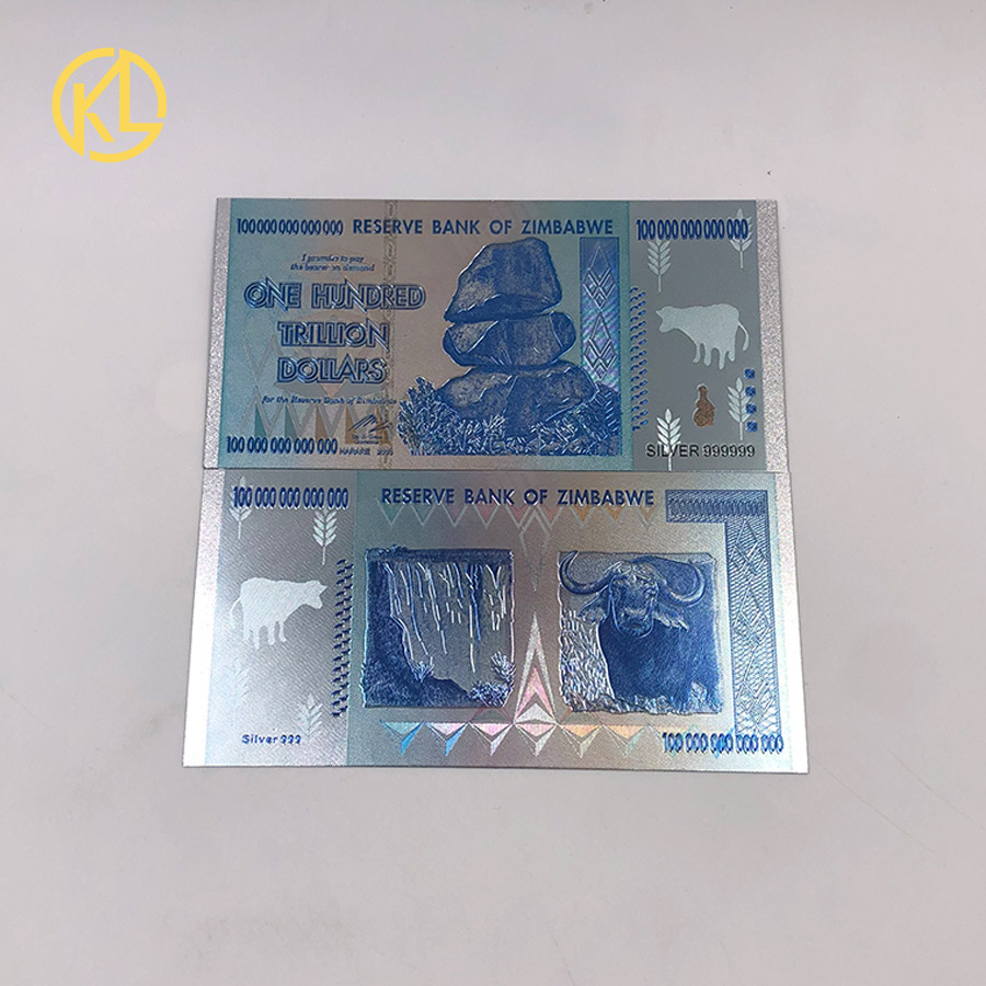 Plastic Material Silver Or Gold 999