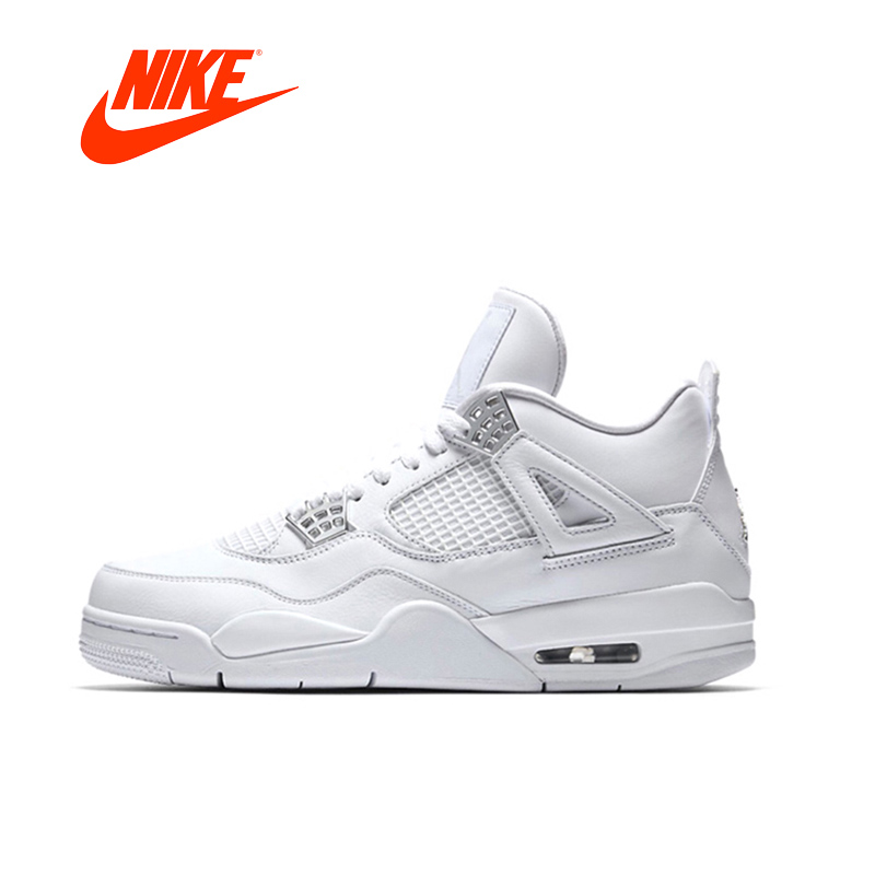 new concept d9dc9 c54aa 2018 Nike Men Air Jordan 4 Laser AJ4 Basketball Shoes damping Non-slip  Resistant Breathable