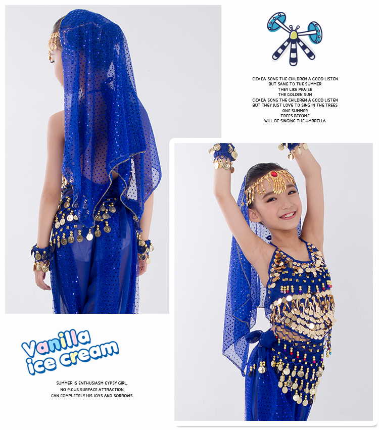 HTB1v01paKbviK0jSZFNq6yApXXak - Kids Belly Dance Costumes Set Oriental Dance Girls Belly Dancing India Belly Dance Clothes Bellydance Child Kids Indian 6 Colors