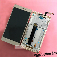 Top Quality LCD Display Touch Screen Panel Digitizer Assembly with Frame For Xiaomi Redmi Note3 Hongmi