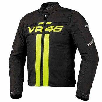 Comprar ahora Moto GP para Dain motocicleta chaqueta de los hombres chaqueta  de la motocicleta chaqueta de protección VR46 Rossi Moto Racing para Yamaha  ... dc2459fde02ac