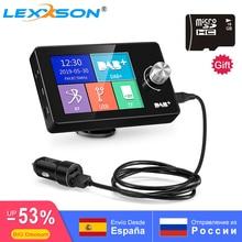 цены Portable Car DAB Digital Radio Bluetooth+MP3+FM+Unlimited Preset+Handsfree Call+AUX IN/OUT+Dual USB Car Charger+TF Card Play 64G