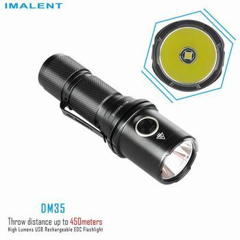 Imalent DM35 Flashlight Power meter Cycling Lanternas de led de alta potencia Cycling Outdoor Torch cilcismo cycling taser shock