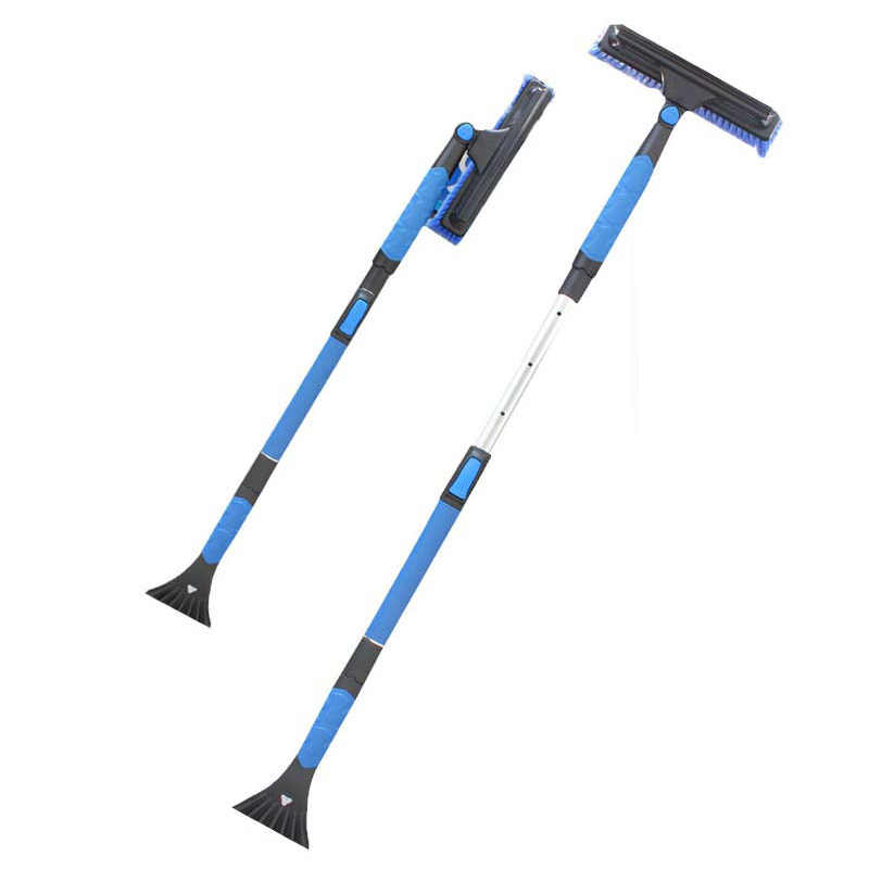 Automobile snow shovel The ice scraping deicing shovel upgrade retractable skis 120 long
