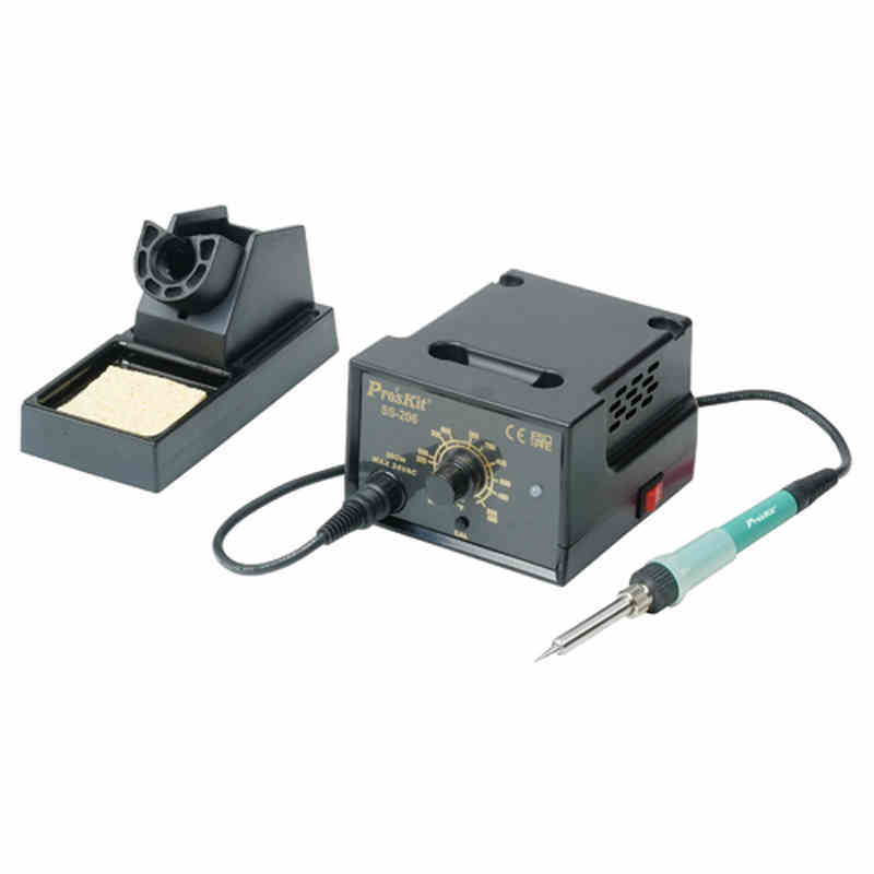SS-206H 60W 200-480C 110V/220V Soldering Station Adjustable Temperature Electric Iron Welding Soldering Rework Repair Tool