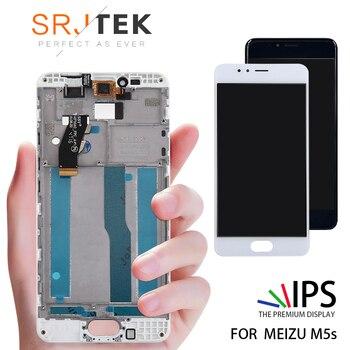 100% Протестировано 5,2 дюймов 1280x720 для Meizu M5S Meilan 5s ЖК-дисплей с сенсорным экраном дигитайзер сборка запасные части M612H M612M >> Aparts Store